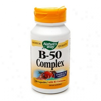 Nature's Way Vitamin B Compounded, 500mg, Capsules