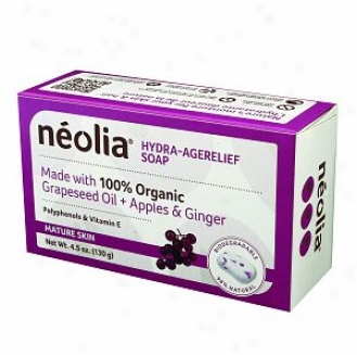 Neolia Hydra-agerelief Grapeseed Oil Soap For Mature Skin