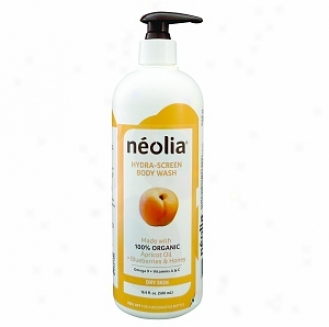 Neolia Hydra-screen Apricot Oil Body Wash For  Dry Skin