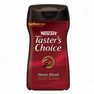Nescafe Taster's Choice Gourmet Instant Coffee, House Blend