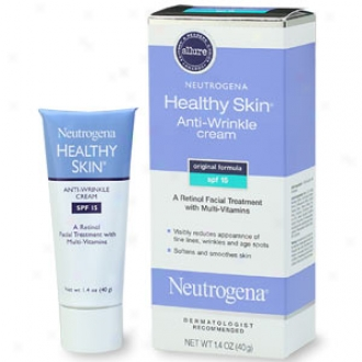 Neutrogena Healthy Skin Anti-wrinkle Cream, Original Formula Spf 15