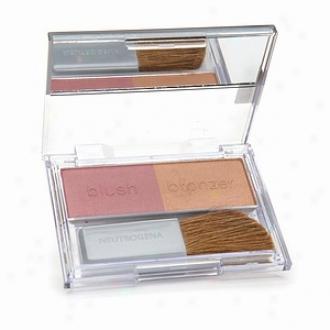 Neutrogena Healthy Skin Custom Glow Blush & Bronzer Duo, Raisin Glow 50