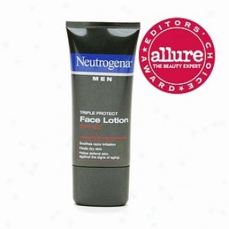 Neutrogena Men Triple Protect Face Lotion, Spf 20