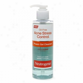 Neutrgoena Oil-free Acne Stress Control Power-gel Cleanser