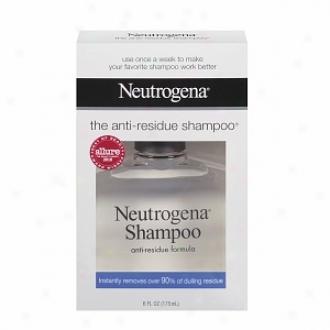 Neutrogena Shampoo, Anti-residue Formula