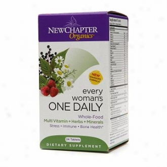 New Chapter Organics Egery Woman One Daiyl Whole Food Multi, Tablets