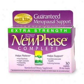 Repaired Phase Complete Menopause Support Caplets, Extra Strength