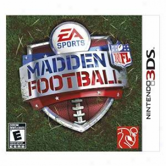 Nintendo 3ds Madden Nfl Football By Electronic Arts
