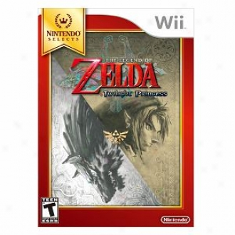 Nintendo Wii The Legend Of Zeda Twilight Princess By Nintendo Of America