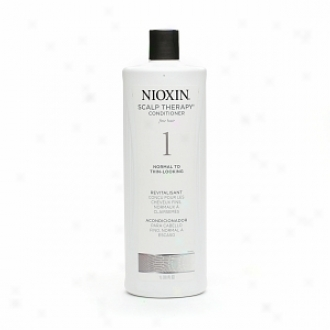 Nioxin Scalp Therapy Conditioner In spite of Fine Hair System 1: Natural Hair/normal To Thin