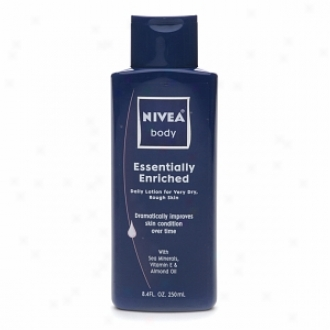 Nivea Body Essentially Enriched Daily Lotion For Very Dry, Rough Skin