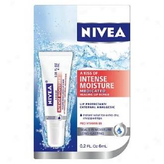Nivea Lip Care A Kiss Of Intense Moisture Medicayed Healing Lip Repair