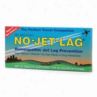 No-jet-lag Homopathic Jet Lag Prevention Tablets