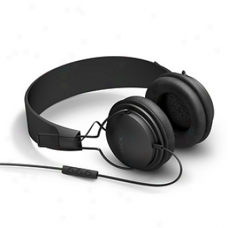 Nocs Ns300 Headphones With Remote And Mic All, Black