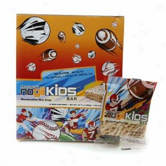 Nogii Kids Bar Marshmallow iRce Crisp, Marshmallow Rice Crisp