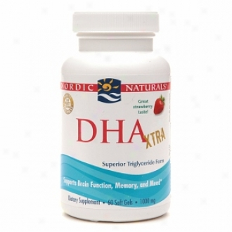 Nordic Naturals Dha 1000, Soft Gels, Strawberry