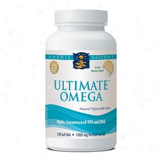 Nordic Naturals Ultimate Omega, 1000mg, Soft Gels