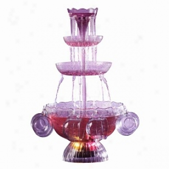 Nostalgia Electrics Lpf-210 Vintage Collection Lighted Party Fountain Beverage St