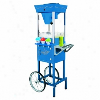 Nostalgia Electrifs Scc-200 Vintage Collection 54   Old Fashioned Snow Cone Cart, Melancholy