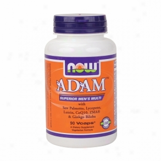 Now Foods Adam Superior Men's Multiple Vitamin, Vegetarian Capsules
