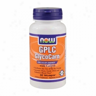 Now Foods Gplc Glycocarn Witb Coq10, Vegeterian Capsules