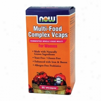 Now Foods Multi-food Complex For Women, Vegetarian Capsules