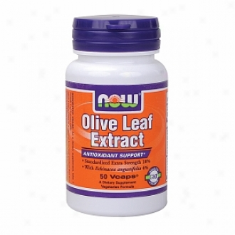 Now Foods Olive Leaf Extract Unusual Strength, Vegetarian Capsules