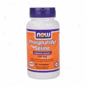 Now Foods Phosphatidyl Serine, 100mg, Vegetarian Capsules