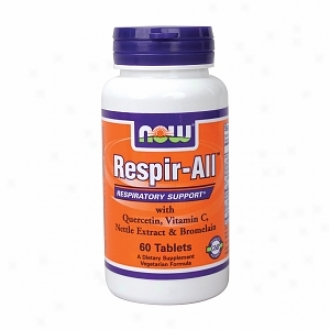 Now Foods Respir-all (allergy Support) Vegetarian, Tablets