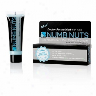 Numb Nuts The Manscaper's Pain Relieving Cream