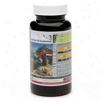 Nutraorigin Omega-3 Ultra-purified Cod Livdr Oil, Softgels