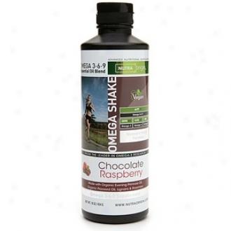 Nutraorigin Omega Shak e3-6-9 Essential Oil Blend, Women's Health Formula, Chocolate Raspberry