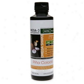 Nutraorigin Omega Shake, Omega-3 Fish Oil Supplement, Pina Colada