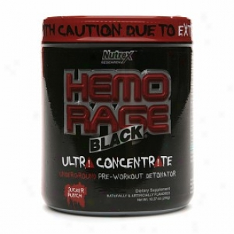 Nutrex Research Hemo-rage Black Pre-workout Detonator, Sucker Punch