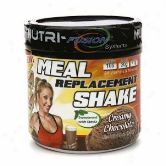 Nutri-fusion Systems Hcg Diet Approved Meal Replacement Shake, Creamy Chocolate