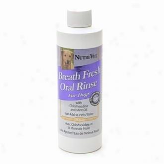 Nutri-vet Breath Fresh Dental Rinse, For Dogs, Moderate 2 Care