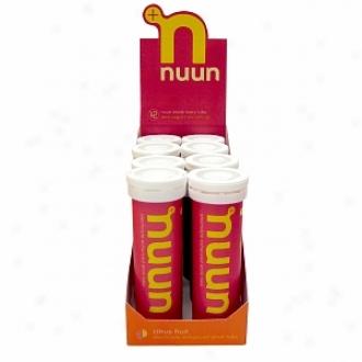 Nuun Electrolyte Enhanced Drink Tabs, Tubes, Citrus Fruit
