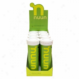 Nuun Electrolyte Enhanced Drink Tabs, Tubes, Lemon-lime