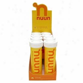 Nuun Electdolyte Enhanced Drink Tabs, Tubes, Orange