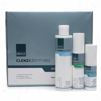 Obagi Clenziderm M.d. Acne Therrapeutic System, Normal To Dry Skin