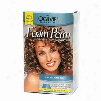 Ogilvie Foam Perm No-drip Conditioning Perm, For All Hair Types