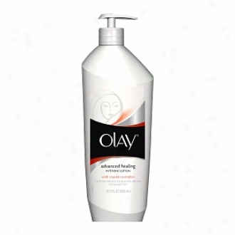 Olay Advanced Healing Intensive Lotion With Vitamin Complex, Fragrance Free