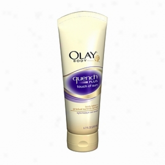 Olay Body Quench Plus Touch Of Sun Body Lotion, Light/medium Skin Tones