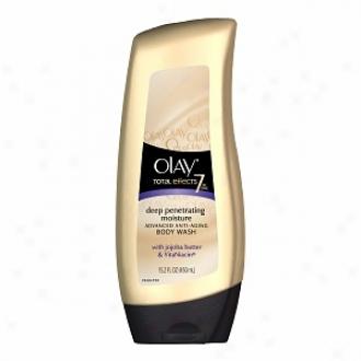 Olay Total Effects 7-iin1 Advanced Anti-aging Body Wash, Desp Penetrating Moisture, Deep Penetrating Moisture