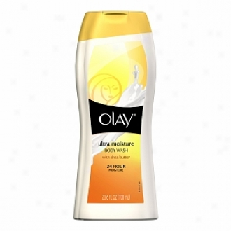 Olay Ultra Moisture Body Wash, With Shea Butter