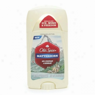 Old Spice Of recent make Assemblage Antiperspirant & Deodorant Invisible Solid, Matterhorn