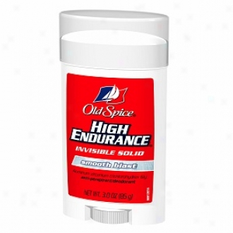 Old Spice High Endurance Antiperspirant & Deodorant Invisible Solid, Smooth Blast