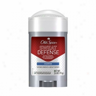 Old Spice Red Zone Sweat Defense Antiperspirant & Deodorant, Mild Solid, Champion