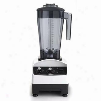 Omega Commercial 64-ounce Variable Speed Blender, White B2500
