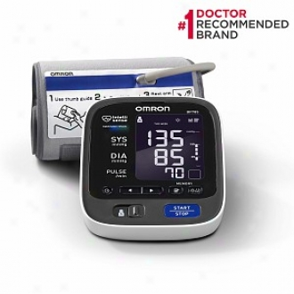 Omron 10 Series Upper Arm Blood Pressure Monitor, Model Bp785